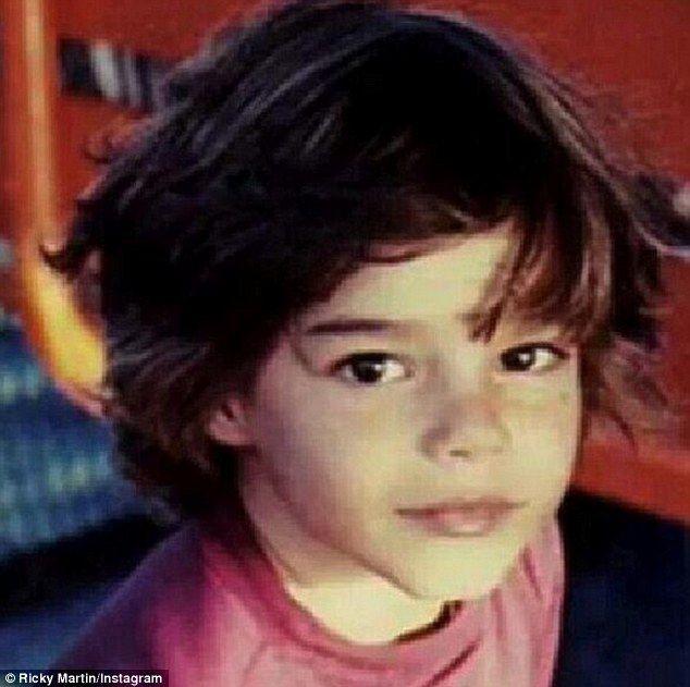 Ricky Martin... How cute!