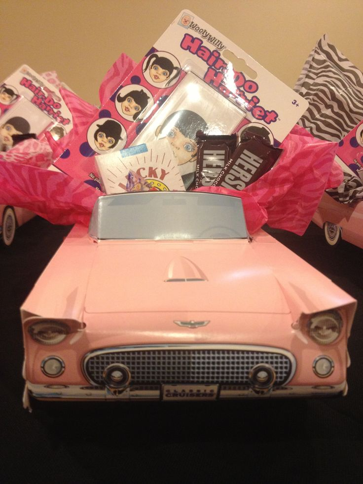 Grease party favor