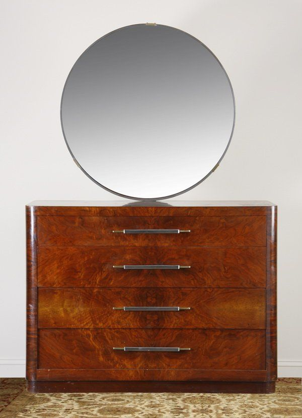 Early 20th c. French Art Deco dresser : Lot 139