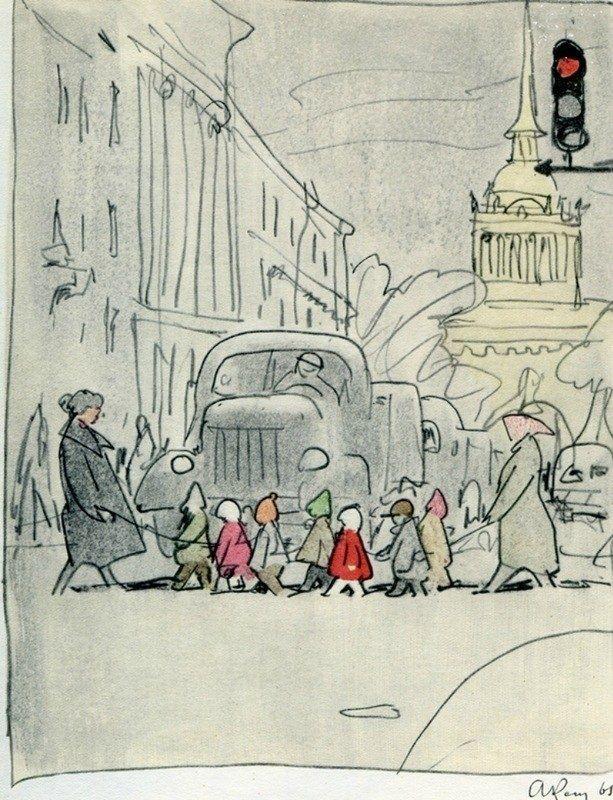 Анатолий Кокорин. Ленинградский альбом, 1968