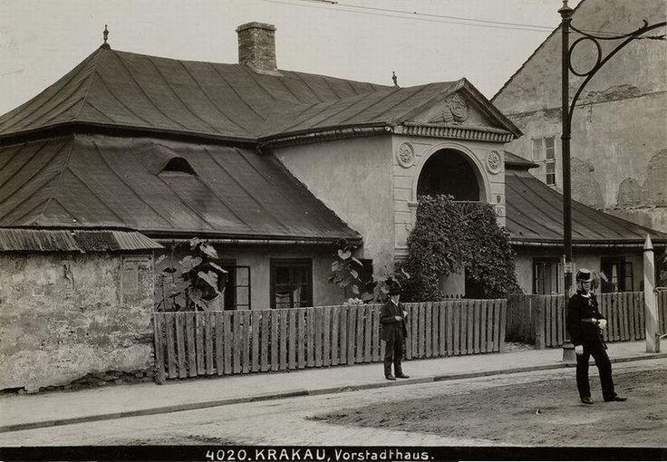 WEJŚĆ DUŻO FOTEK  Dwór Pod Pawiem, Kraków - 1907 rok, stare zdjęcia