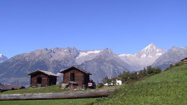 Bürchen - Zwitserland Toerisme