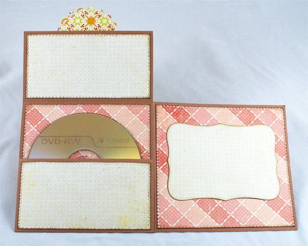 CD gift card - tutorial