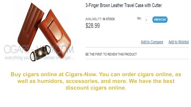 Buy here high quality cigars online at cigars-now. All cigars lover come to our website and check out here variety of cigars collection and place your order online. http://www.cigars-now.com/cigars