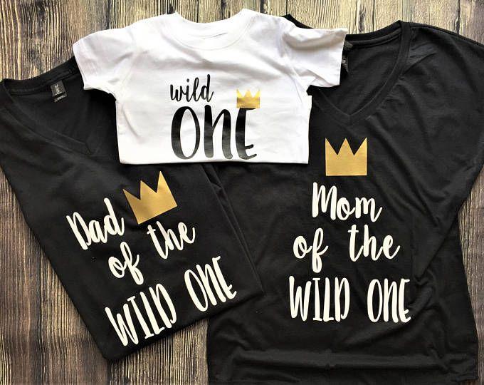 Wild One Birthday Shirt Wild One First Birthday Shirt Where the Wild Things Are Birthday Shirt First Birthday Shirt