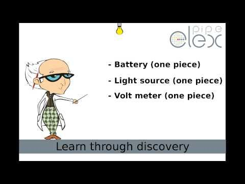 2nd ELEXperiment : How to use Voltage Meter...