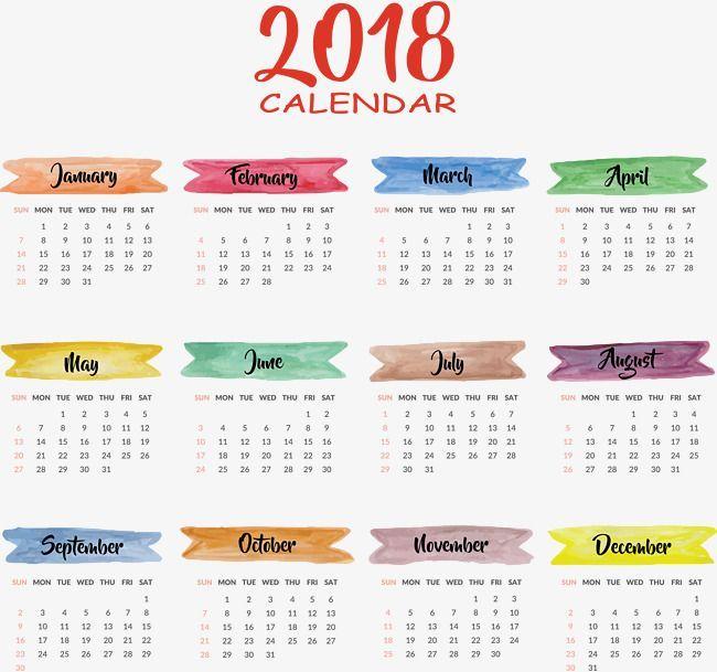 Image result for mini calendar months 2018