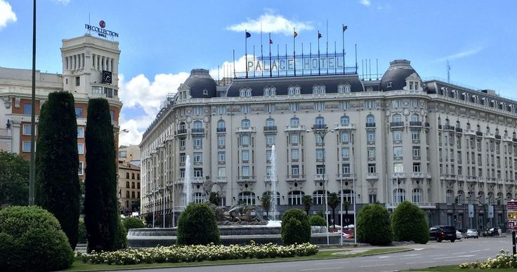 The Palace Hotel (Madrid, Spain) : AccidentalWesAnderson