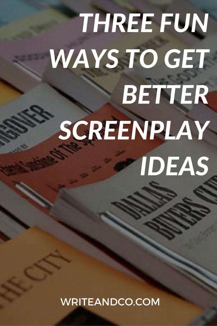script writing ideas