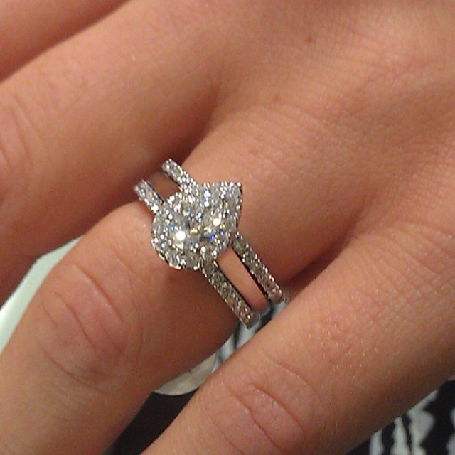 will be mine pear shaped diamond engagement ring helzberg diamonds diamonds diamonds - Helzberg Wedding Rings