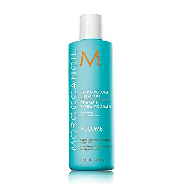 Sulfate Free Shampoo and Conditioner - Learn What the Pros are Using: Moroccan Oil Extra Volume Shampoo