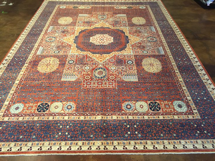 Mamluk This Hand Knotted Pile Rug Is Made Using Natural Dyes And