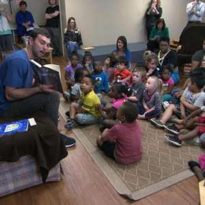 Andrew Luck, NFL quarterback with his own book club