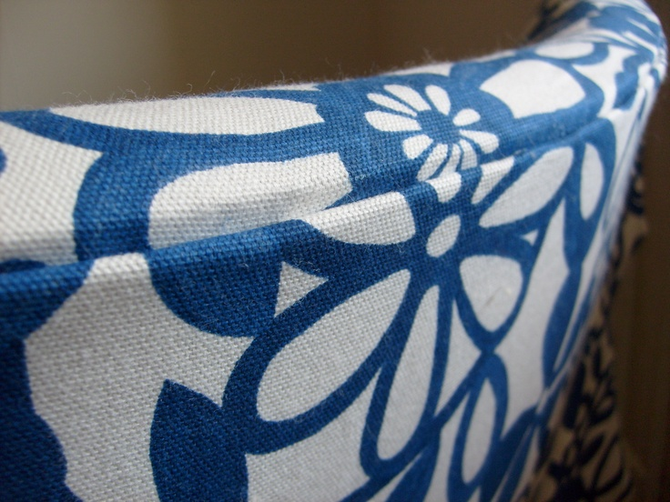 Re-upholstered arm chair - Detail. Back
