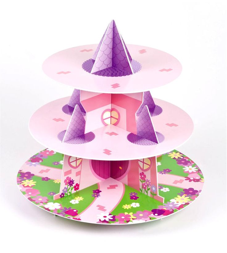 Culpitt PRINCESS 3 Tier Cupcake Cake Stand Display Birhtday Party Decoration in Home, Furniture & DIY, Cookware, Dining & Bar, Baking Accs. & Cake Decorating | eBay!
