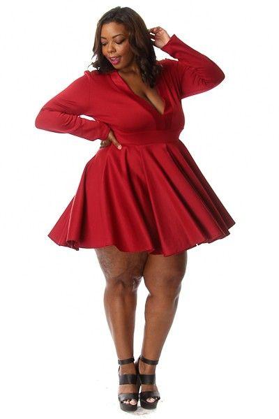 213 best plus size red dresses images on pinterest | plus size