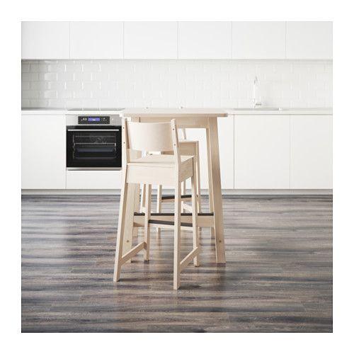 NORRÅKER / NORRÅKER バーテーブル&バースツール2脚  - IKEA