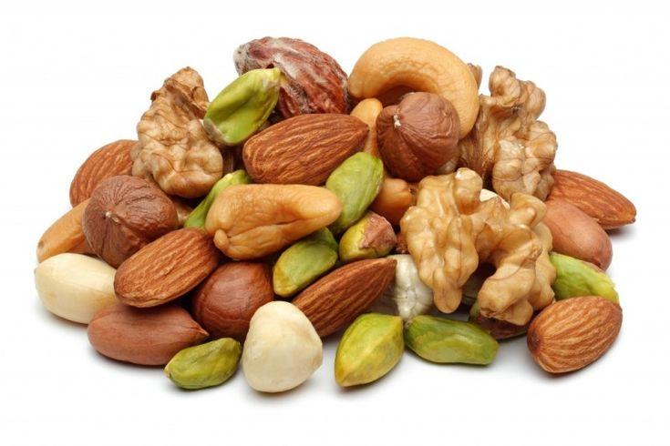 nødder er sunde
