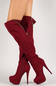 Shop: http://fave.co/1CoPt3h Diz Üstü Çizmeler Knee-high boots