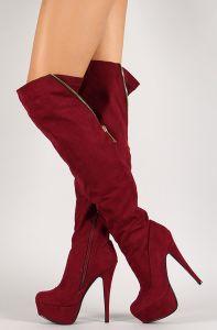 Shop: http://fave.co/1CoPt3h Diz Üstü Çizmeler Knee-high boots