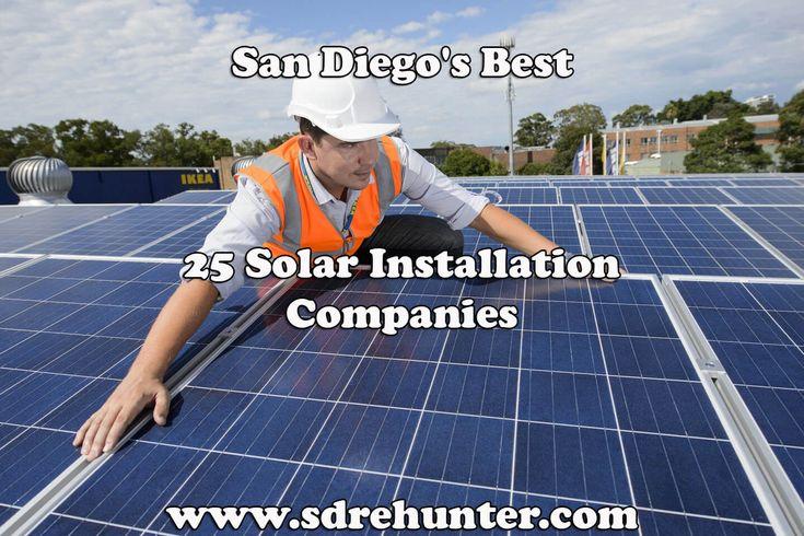 ✔️ [Blog Post] San Diego's Best 25 Solar Installation Companies in 2018