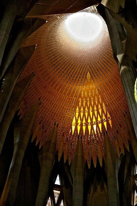 """La Sagrada Familia"" Gaudi:"
