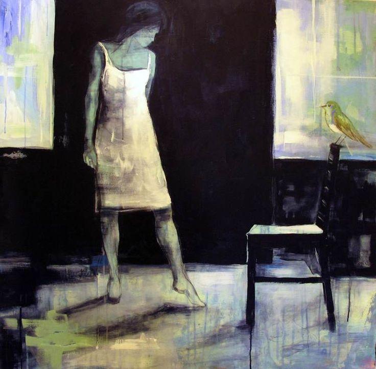 VI SEES SNART IGJEN BY ANNE-BRITT KRISTIANSEN #fineart #art #painting #kunst #maleri #bilde www.annebrittkristiansen.com/anne-britt-kristiansen-kunst-2012