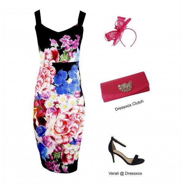 Utafi Vibrant Floral Dress