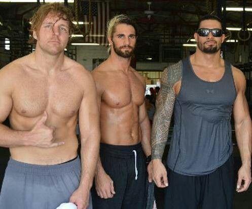 Roman, Seth and Dean