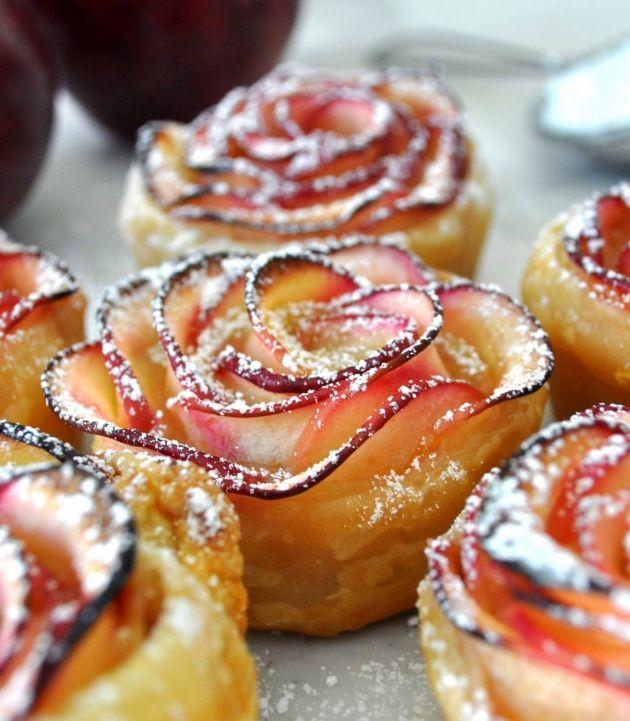 Apple Roses - Pecados de Reposteria