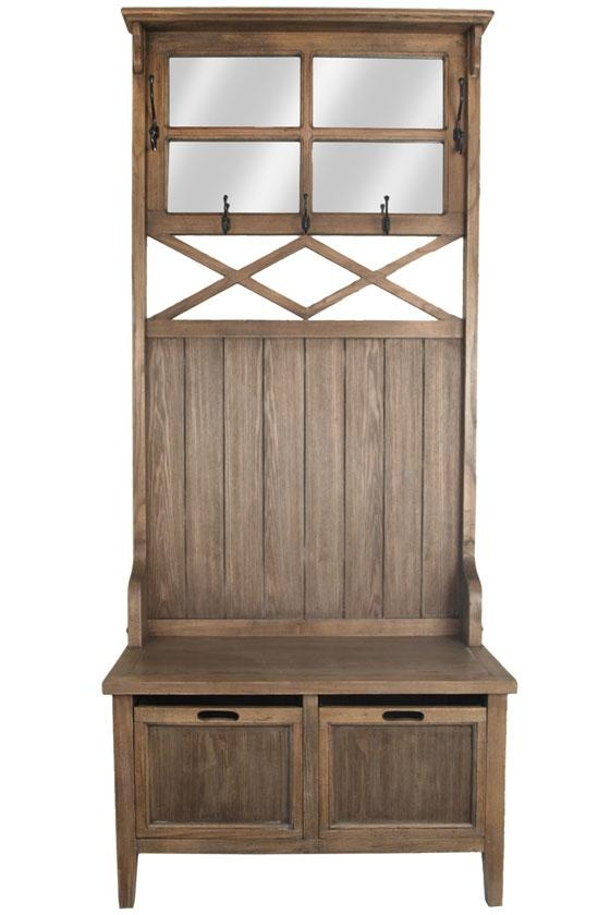 Rustica Hall Tree - catch-all furniture for entryway or mudroom - 57 Best Entryway Images On Pinterest Entryway, Clothes Stand And