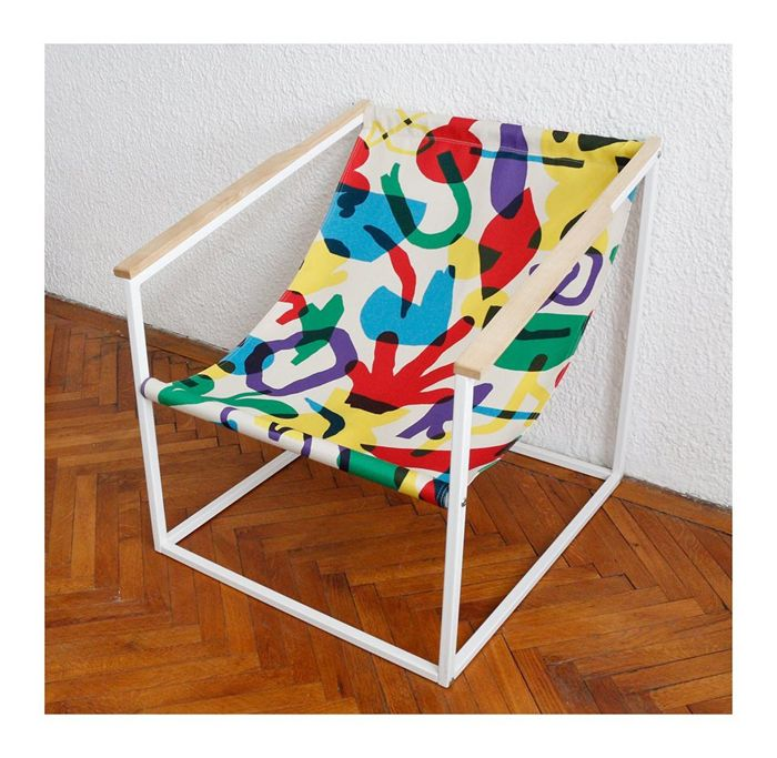 Graphic armchair