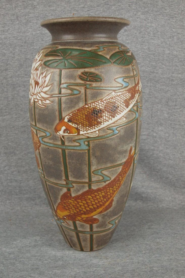 45 best common ground pottery eric olson images on pinterest koi vase bronze color by eric olson reviewsmspy