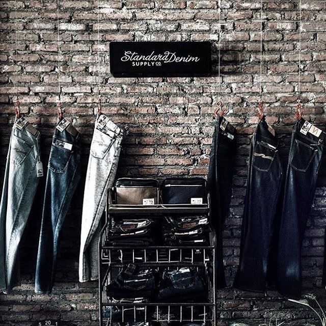 wall of denim #storeambience . thankyou for share @debbylimanto ❤️