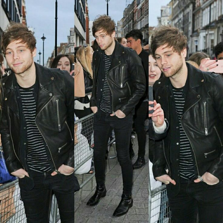 Oml im pretty sure Luke and Cal are wearing the same shoes xD (middle picture)