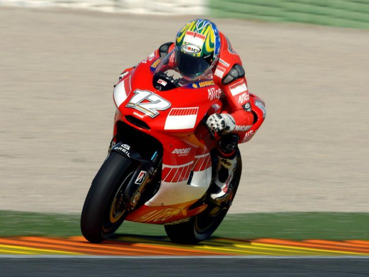 Troy Bayliss - Troy wins the Valencia MotoGP round - 2006 MotoGP