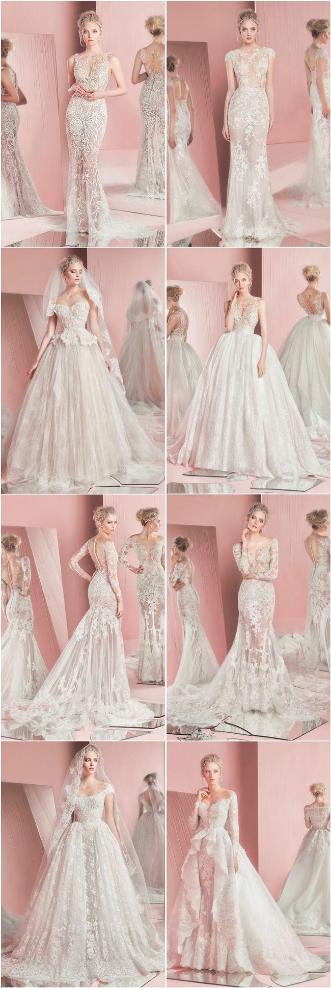 Zuhair Murad Bridal Spring 2016 Wedding Dresses | http://www.deerpearlflowers.com/zuhair-murad-bridal-spring-2016-wedding-dresses/