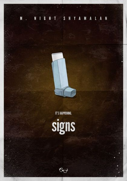 M. Knight Shyamalan's Signs (Sixth Sense* - Unbreakable* - The Village* - Lady in the Water* - The Happening*)