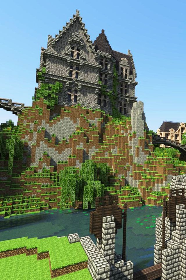 140 best images about minecraft houses on pinterest for Really cool houses