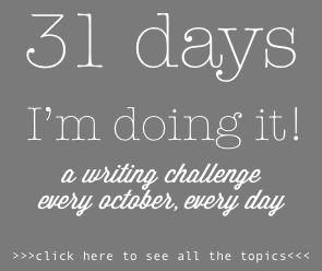 Write 31 Days Challenge