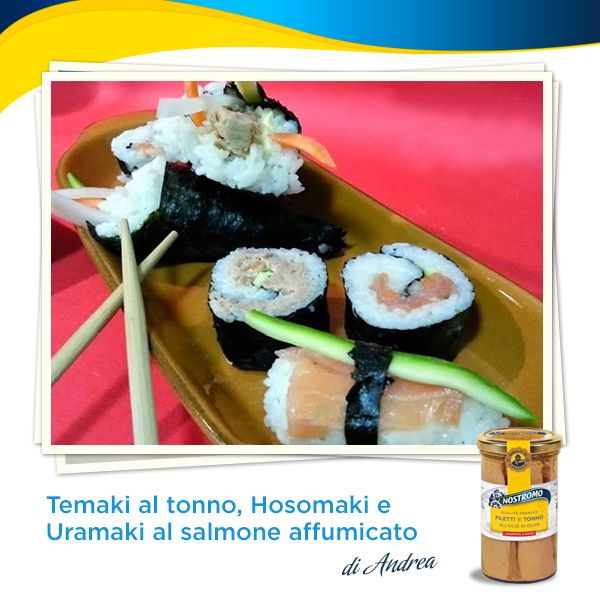 Buongiorno amici del Nostromo! Oggi facciamo rotta verso il Giappone per ricette dal gusto esotico in compagnia dello chef Andrea di Desperate House Cooker. Pronti a partire?  http://desperatehousecooker.blogspot.it/2014/02/temaki-al-tonno-hosomaki-e-uramaki-al.html  #recipe #tonno #tuna #ricette #temaki #hosomaki #uramaki #salmone
