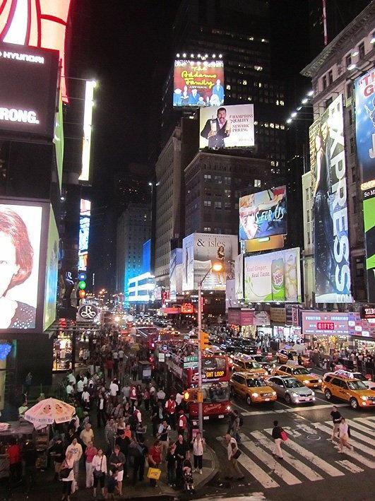 Fotografía: Clara Hernandez Korai - Time Square