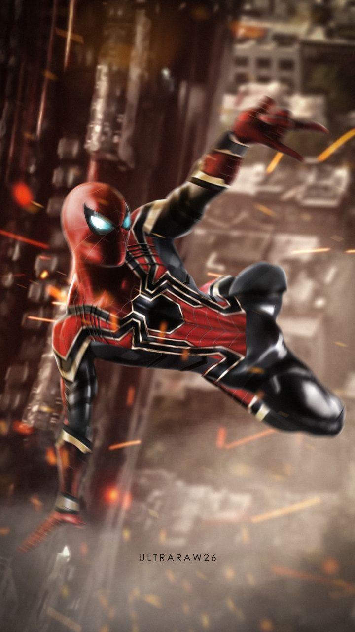 Iron Spider Spider Man Swing Artwork Marvel Superhero 720x1280 Wallpaper Marvel Spiderman Marvel Superheroes Superhero