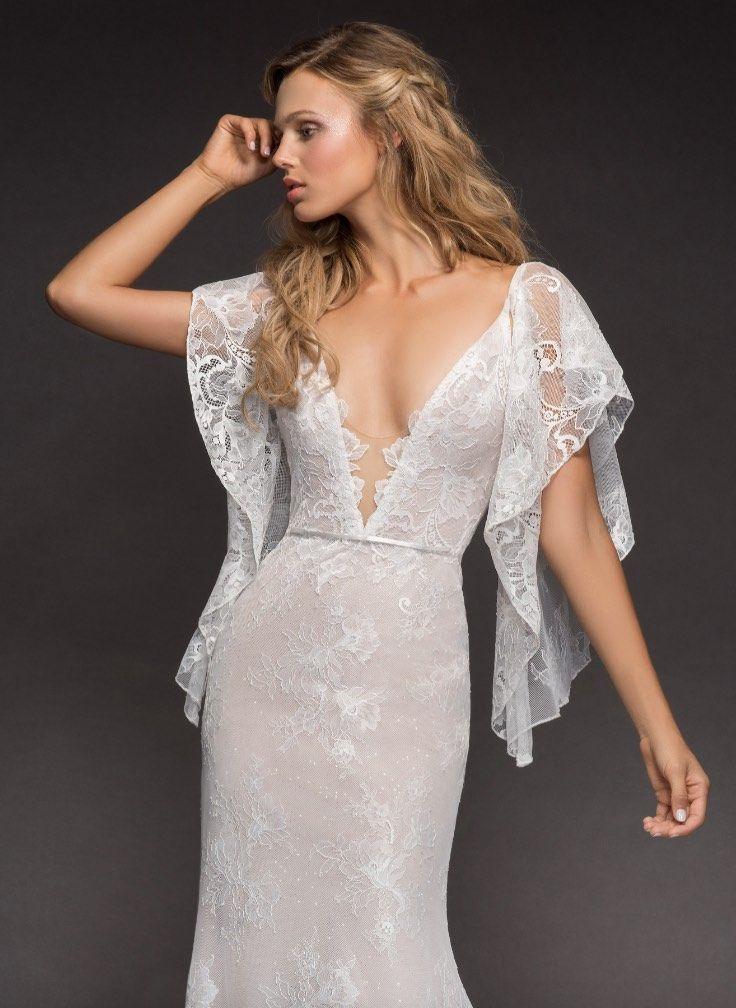 Courtesy of Hayley Paige Wedding Dresses; www.jlmcouture.com/hayley-paige; Wedding dress idea.