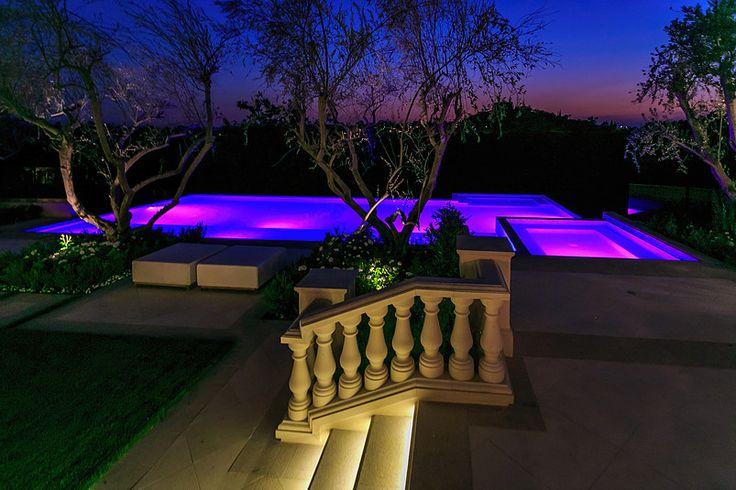 #Majestic Purple Pools #GrandeBellezza – www.villagrandebellezza.com #luxuryrealestate #Luxuryhomes #BeverlyHills Twitter: @bellezzavilla FB: @grandbellezza Pin: g_bellezza