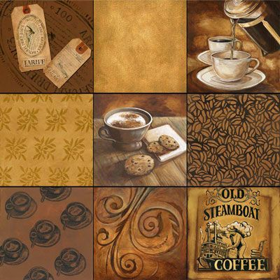Gregory Gorham -Coffee Squares