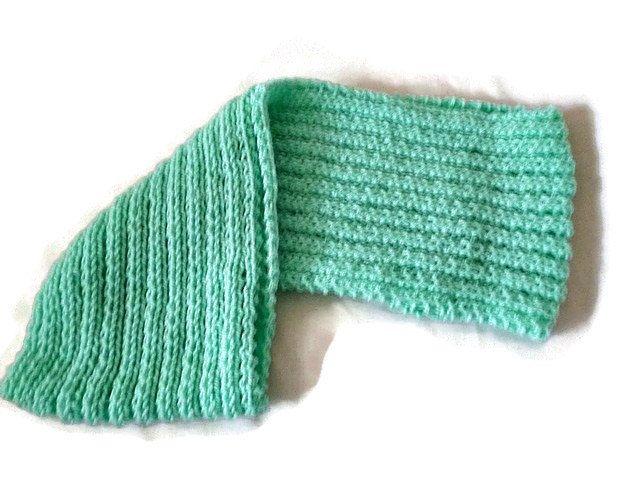 Knit Infinity Scarf, Knit Cowl in Mint, Womens knitted Cowl Scarf, Winter Scarf, Wrap Scarf, Mint Scarf by Maxiesknitwear on Etsy