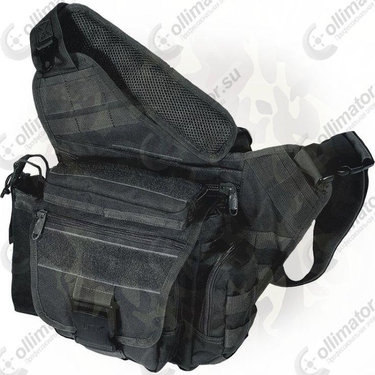 Тактическая сумка на плечо Leapers PVC-P218B (черная)