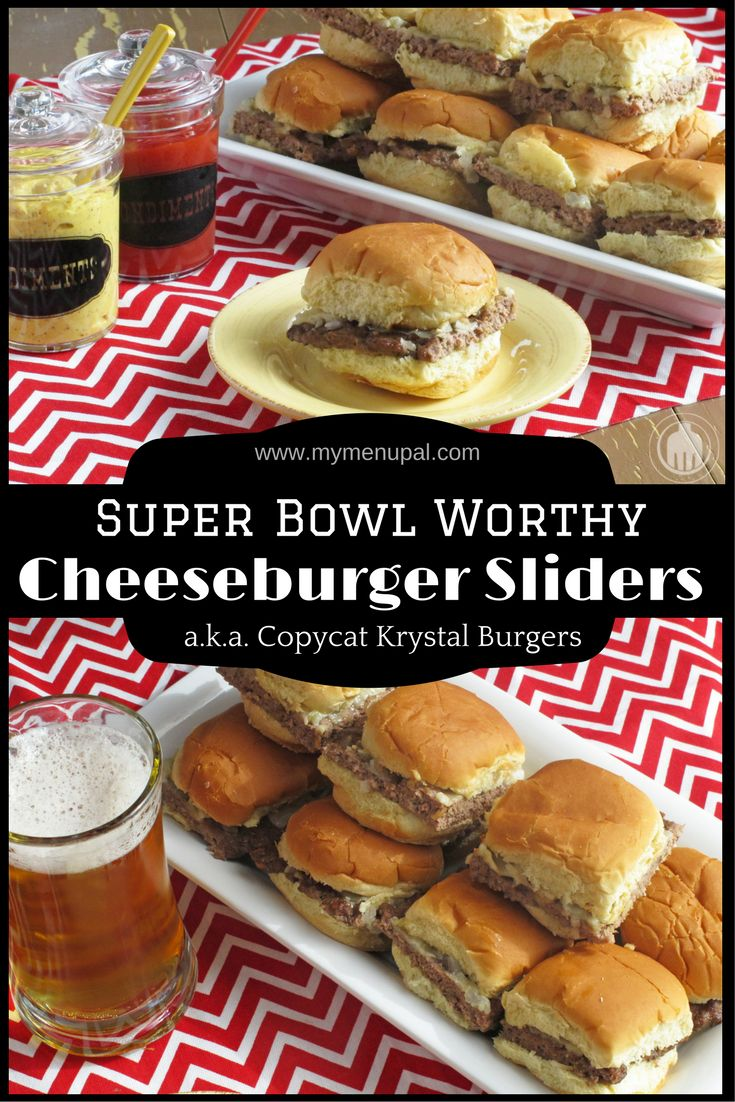 These Cheeseburger Sliders (a.k.a., copycat Krystal burgers) are an easy way to feed a crowd without firing up the grill and watching your favorite game or any time of year really.