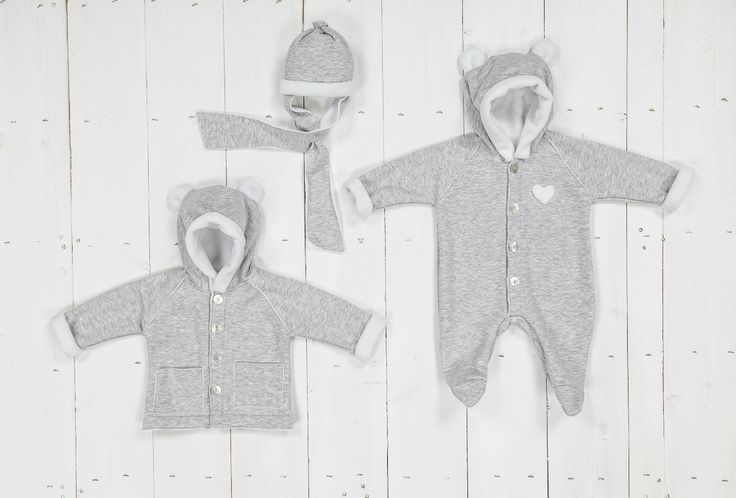 Little gry and white fleece jackets